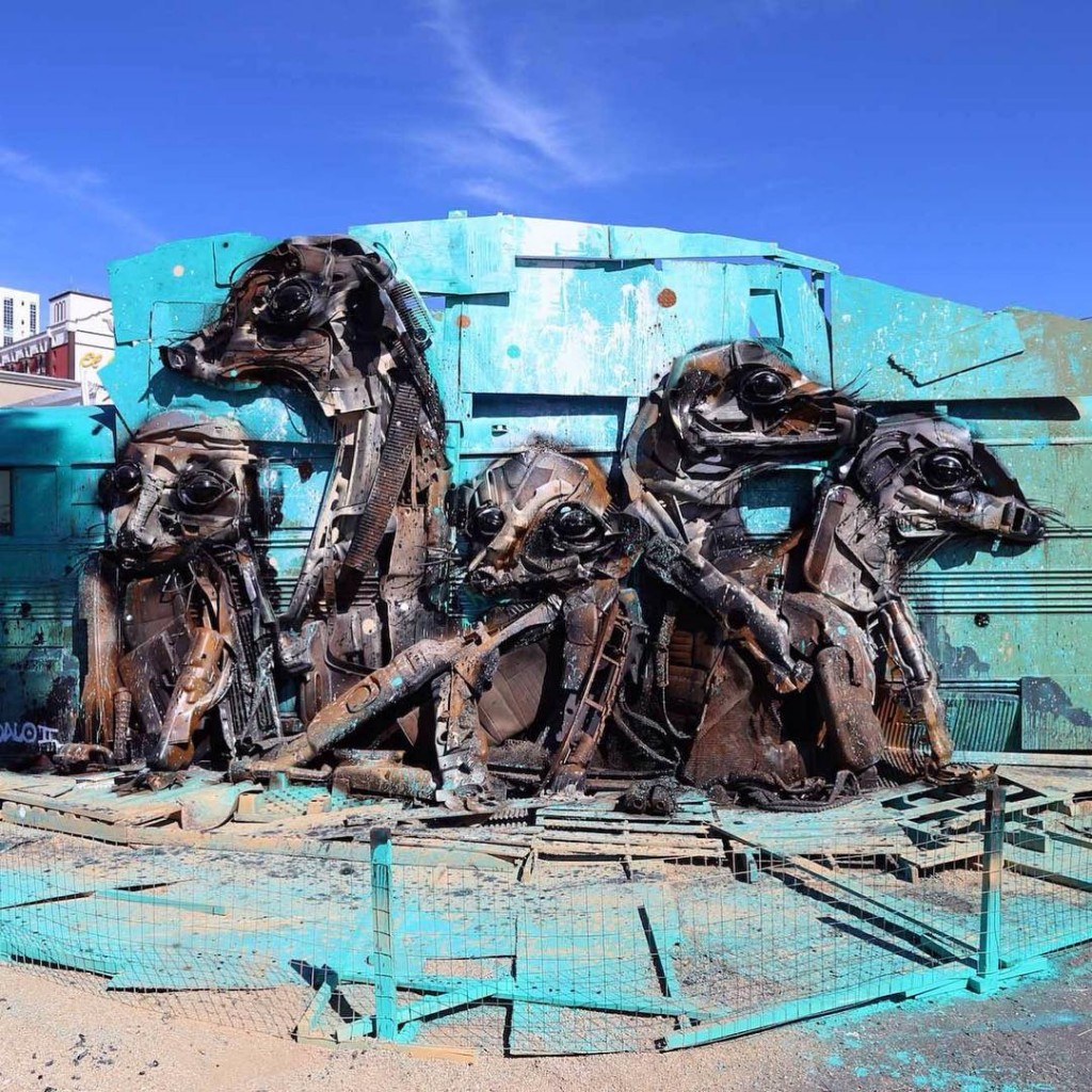 Bordalo II in Las Vegas