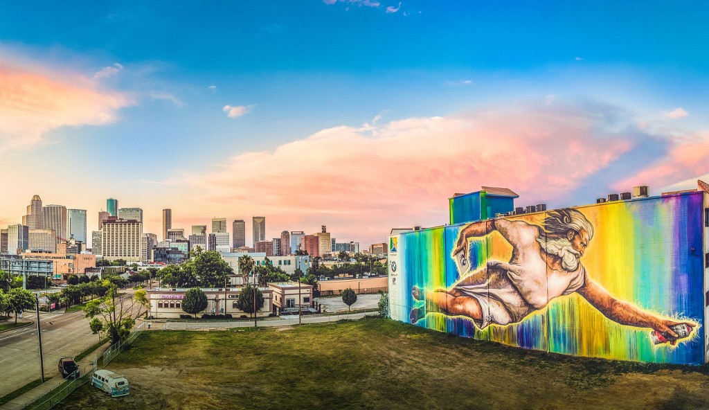 """The Biggest Mural in Houston"" is done!"