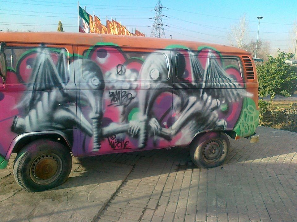 The best Street Art Vehicles