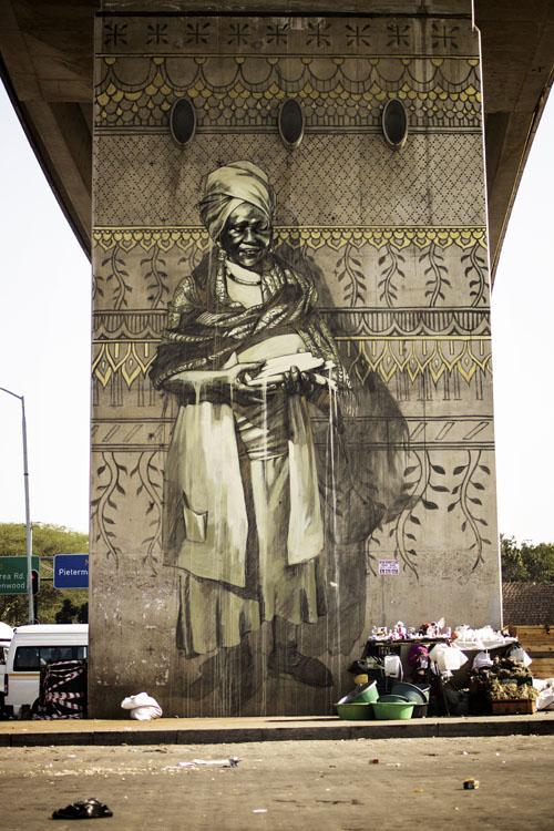 faith47 new murals in durban, south africa