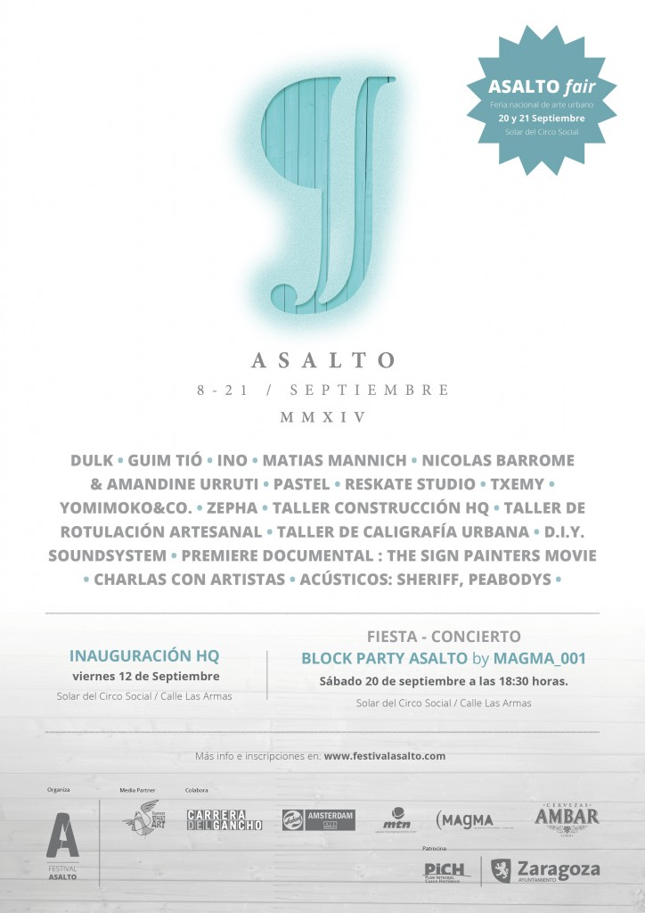 ASALTO 9 Festival in Zaragoza (SPAIN)