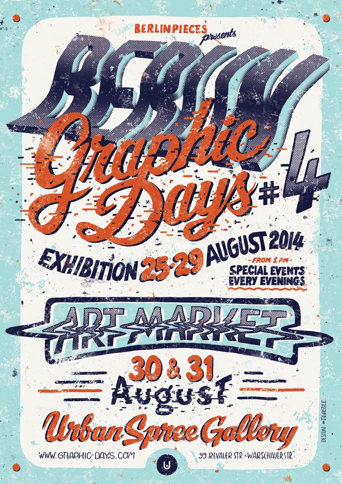 Last days¡ Exhibition BERLIN Graphic Days #4