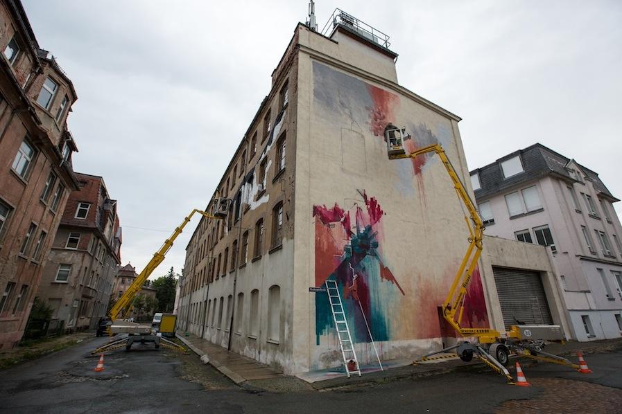 """IBUg"" urban art festival (Behind the scenes)"