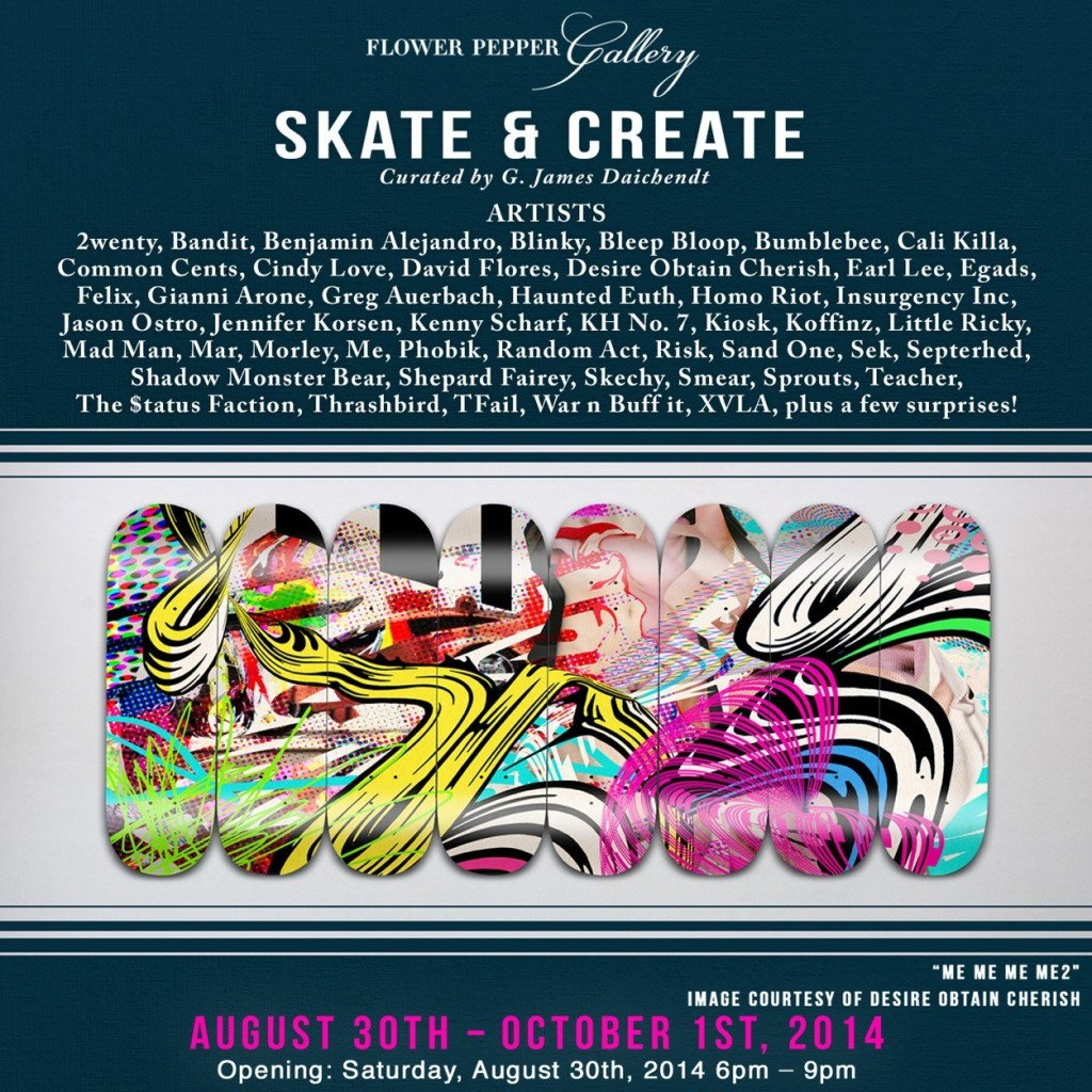 Exhibition SKATE&CREATE