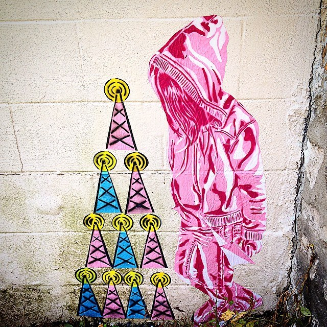 'Pink Girl Rising' by Stephanie Rond