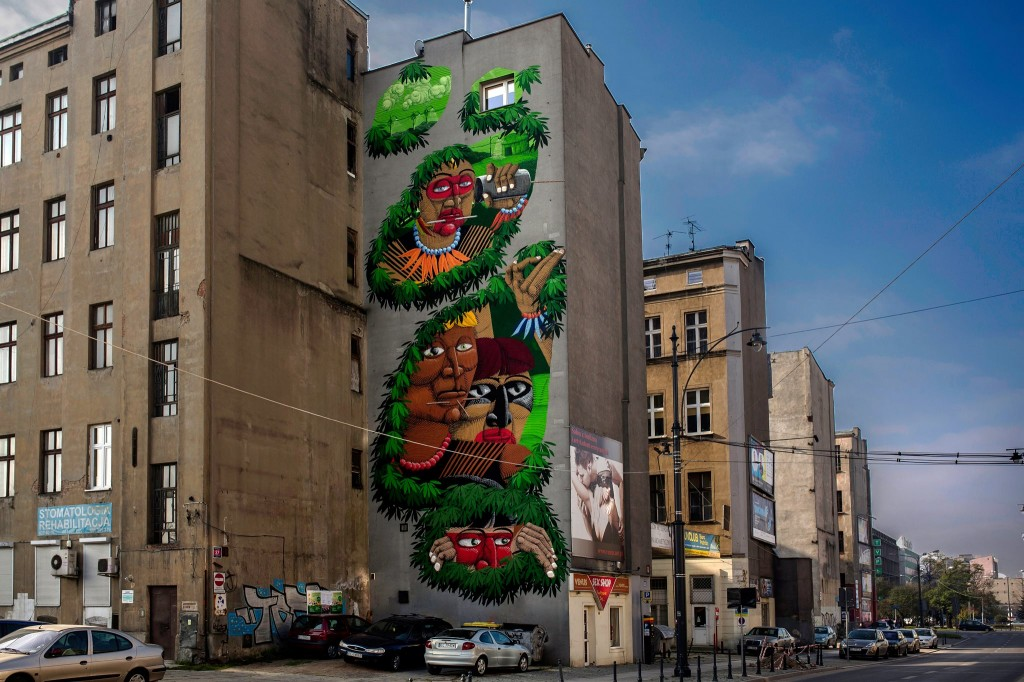Nunca wall in Poland