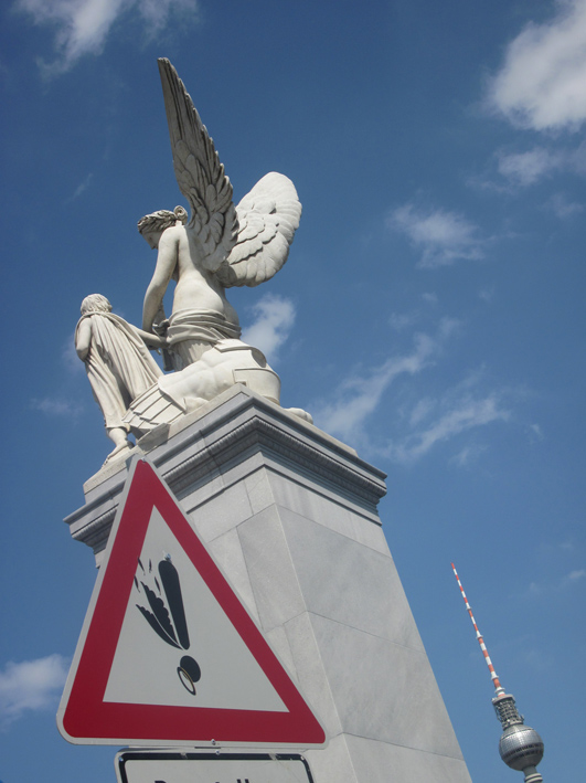 """La chute de l'ange"" (the Angel's fall) - Berlin"
