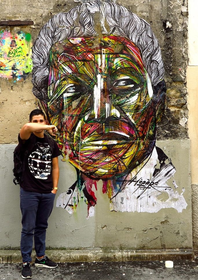 Street-Art-by-Hopare-of-Nelson-Mandela-in-Paris-France