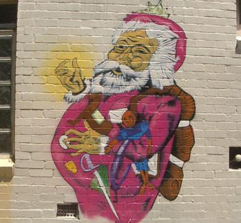 Thomas-Nast-Father-Christmas-Santa-Claus-Graffiti-Art