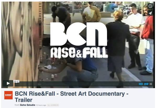 New documentary film BCN RISE&FALL about the Golden Age of street art in Barcelona, SPAIN.