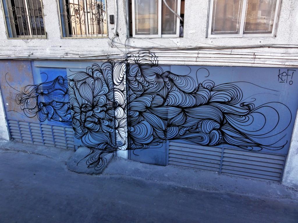 KEF mural
