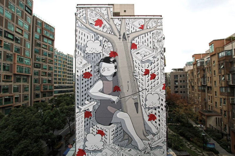 Millo on lines and walls
