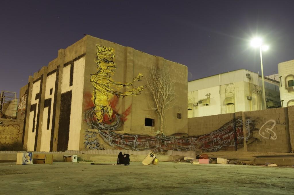 Discovering Saudi Arabian street art by Jens Besser