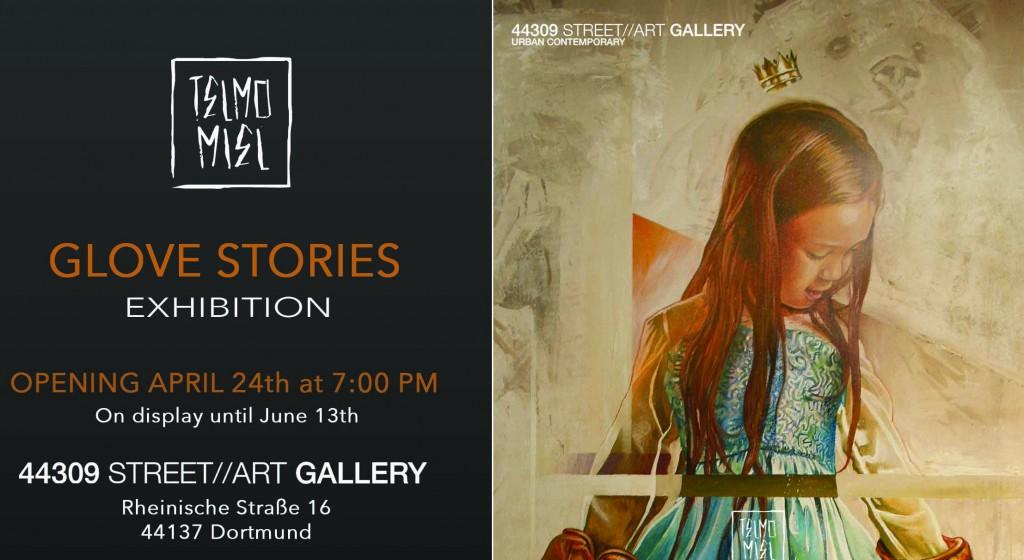 'Glove Stories' exhibition by TelmoMiel