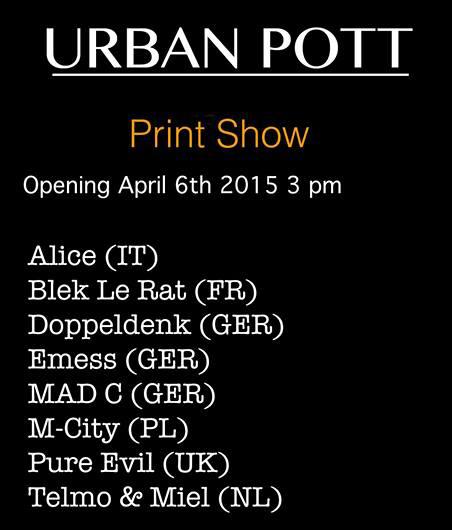 Urban Pott at 44309streetart/ gallery in Dortmund
