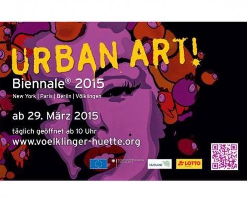 UrbanArt Biennale® 2015, SAARBRÜCKEN. Germany.