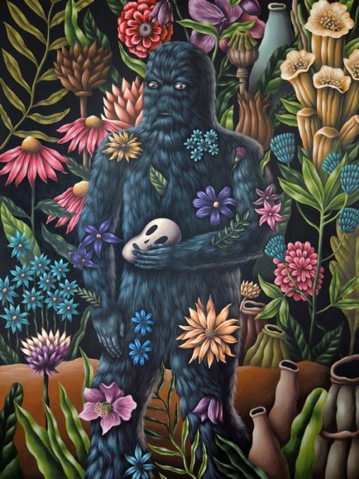 """Solo show """"A Stranger in the Garden"""" by SADDO , Berlin."""