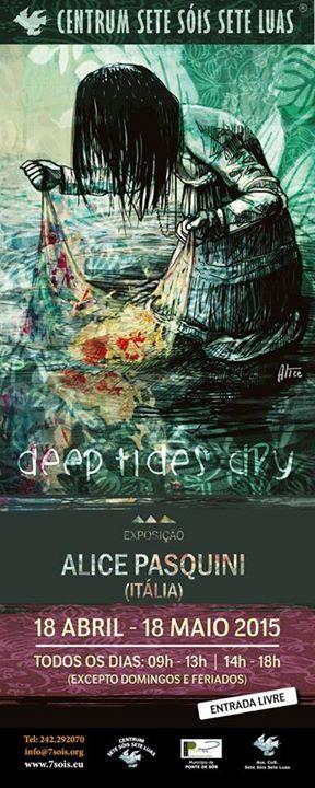 "Exhibition ""Deep Dry Tides"" by Alicia Pasquini, Ponte de Sor Portugal"