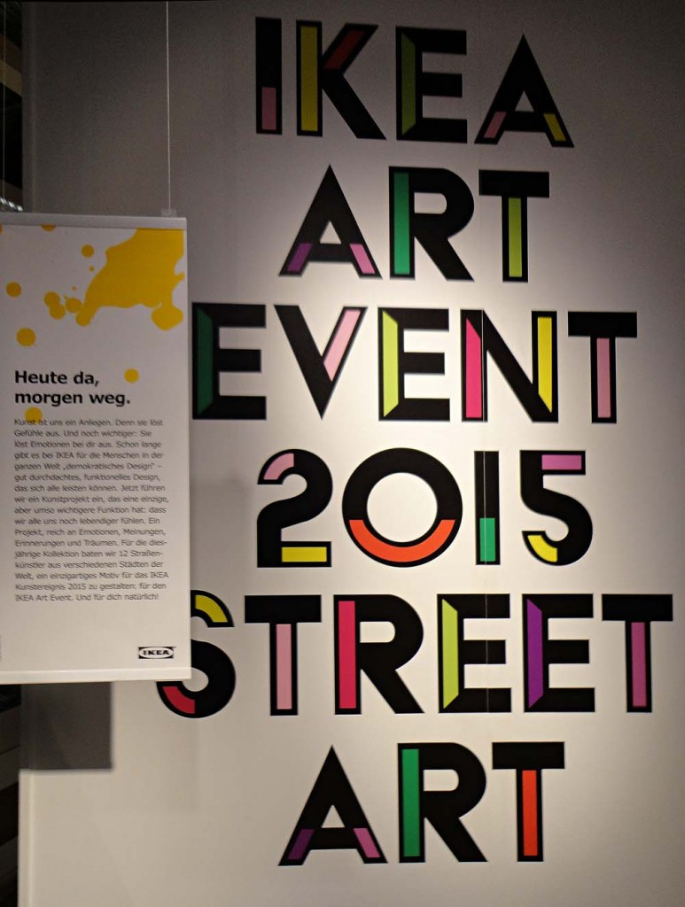 Ikea Art Event (starting April 15) in Berlin