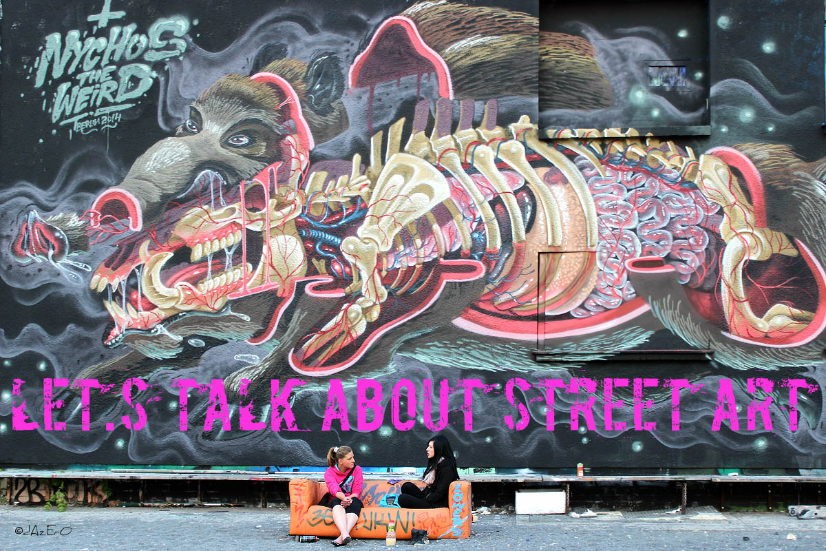 Nychos The Weird / Urban Spree 2014