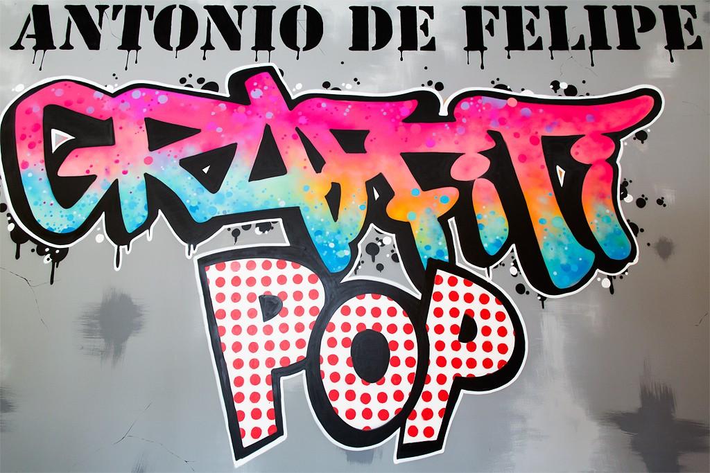 "Exhibition ""POP GRAFFITI"" by Antonio Felipe, Madrid, Spain"