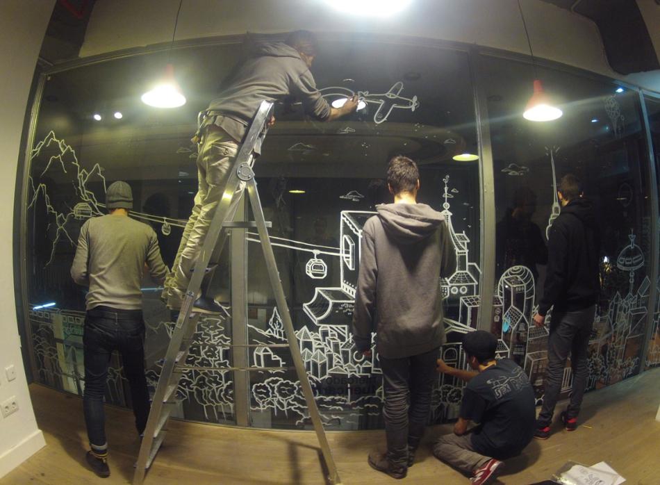 La Banda del Rotu – the street art crew from Madrid talks to ISSA
