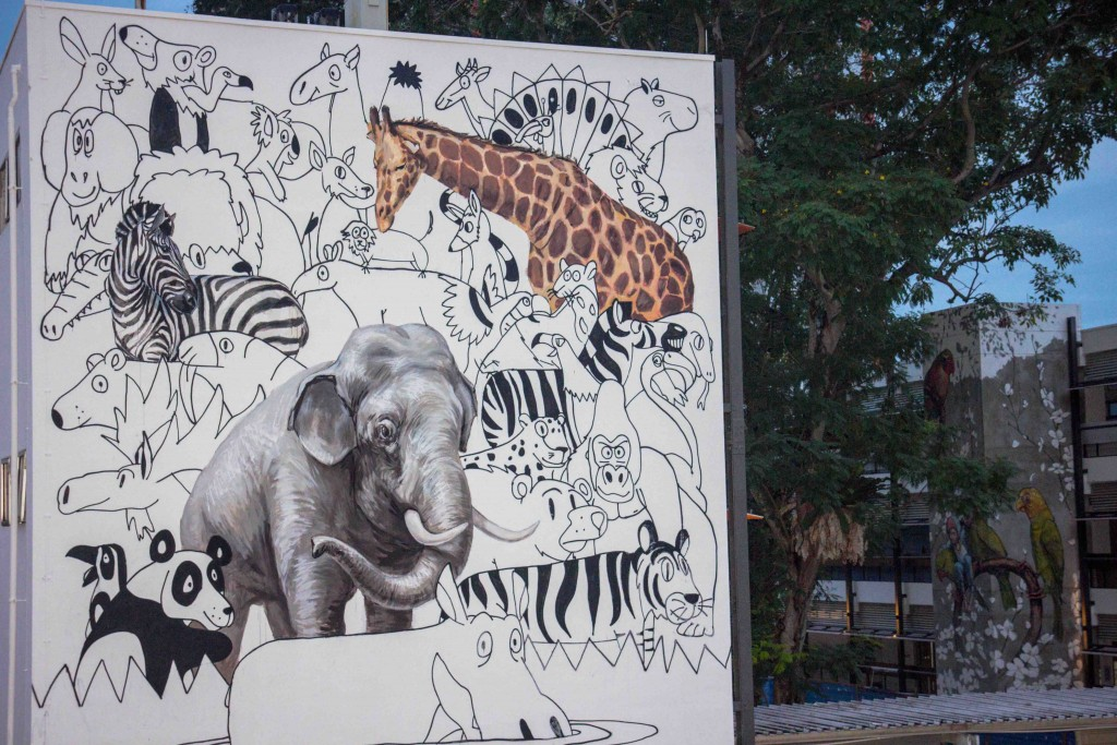 New Ernest Zacharevic Murals Singapore