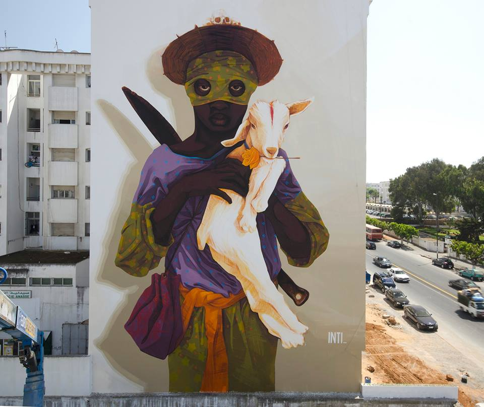 New wall by INTI in Morocco