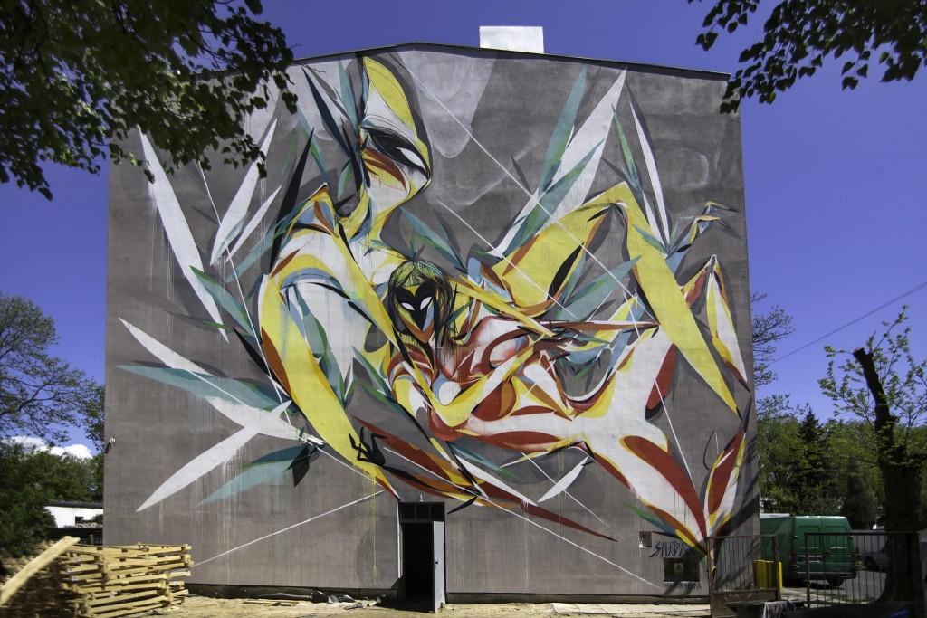 SHIDA – Galeria Urban Forms wall #38