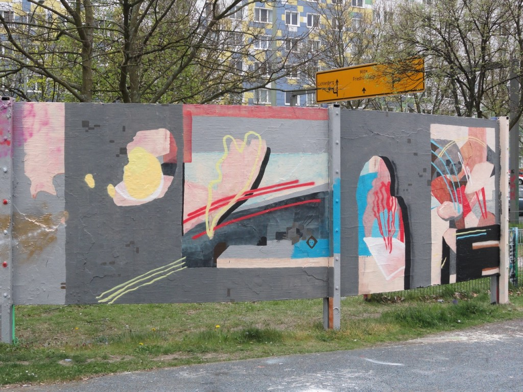 Johannes Mundinger new mural in Berlin