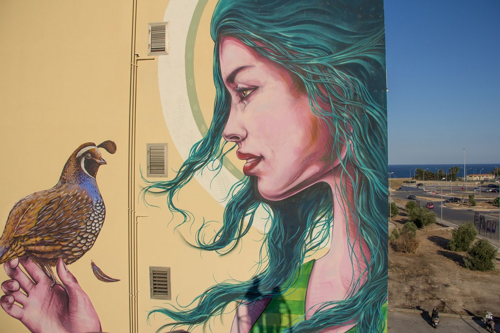 LUCIA, new mural by Truly Design