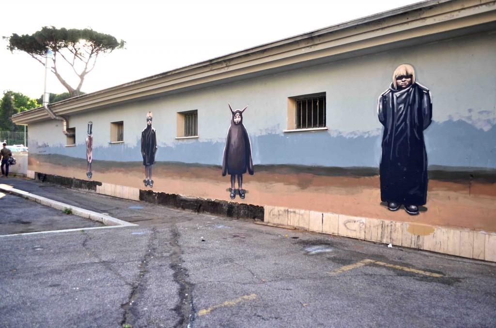 MILU CORRECH, New mural in Rome
