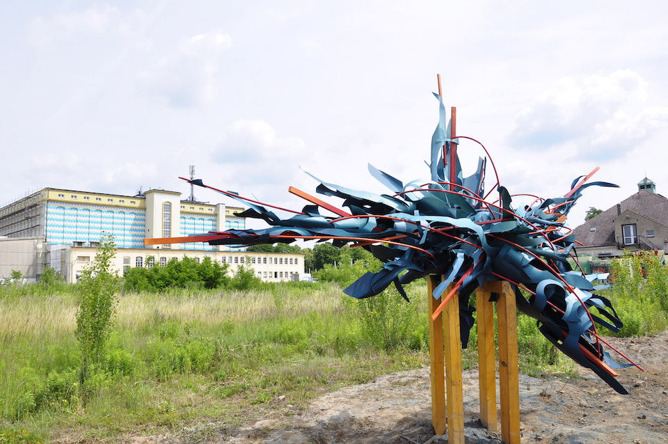 """""""IBUg on Tour"""" at the OSTRALE 2015 in Dresden"""