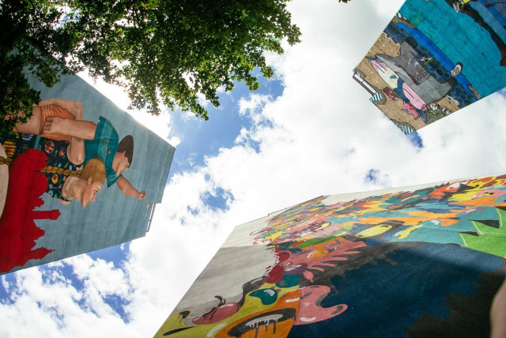 New Monumental murals in Gdańsk, Poland