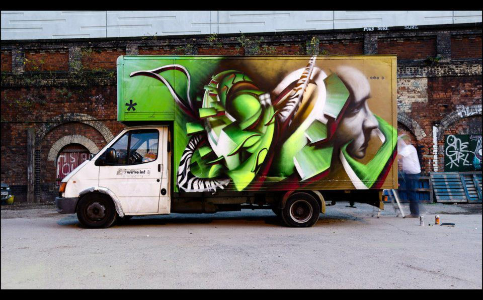 Street Art Vehicles Collection