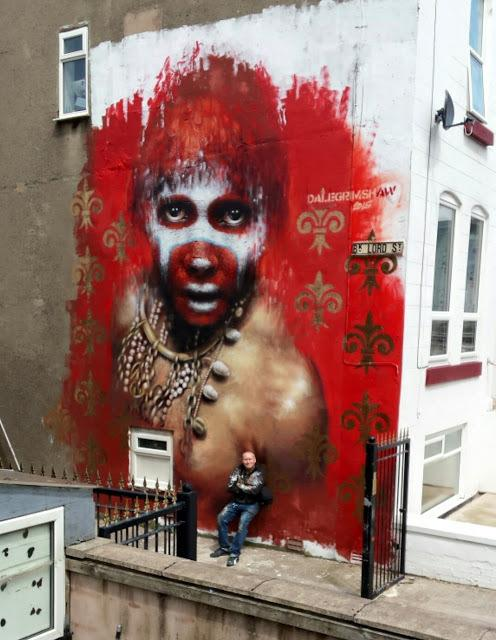 Dale Grimshaw in Blackpool, UK