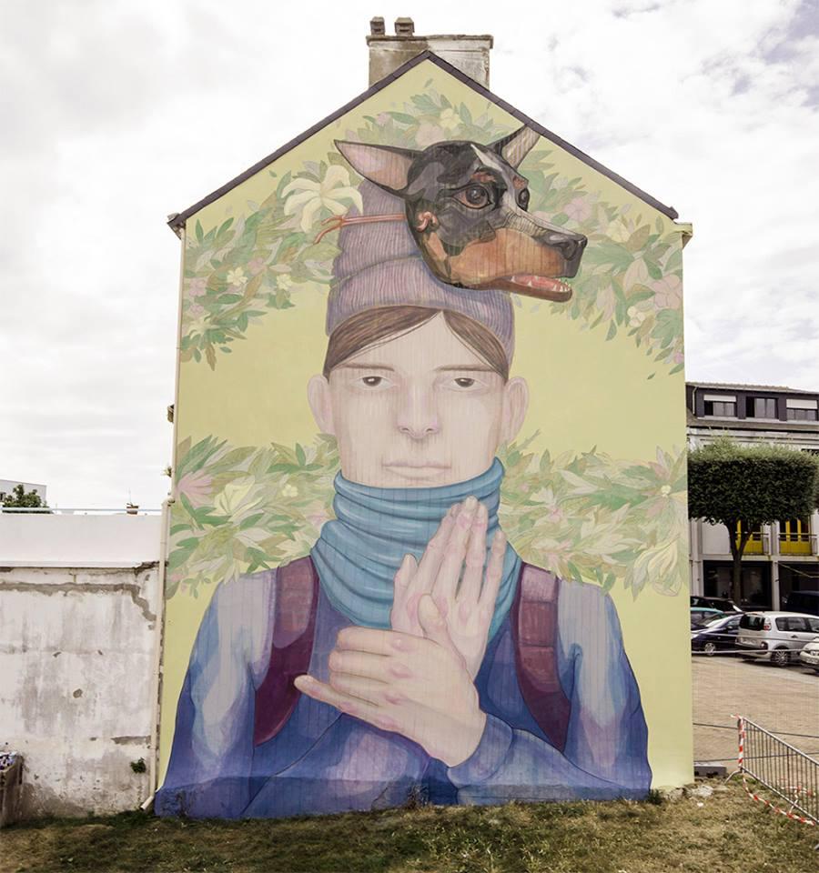 L.R.M - Mural 2 OFRENDA