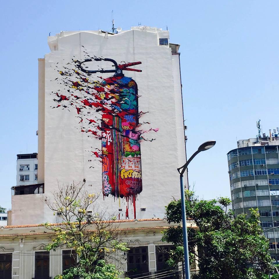 Brusk in Rio de Janeiro, Brazil