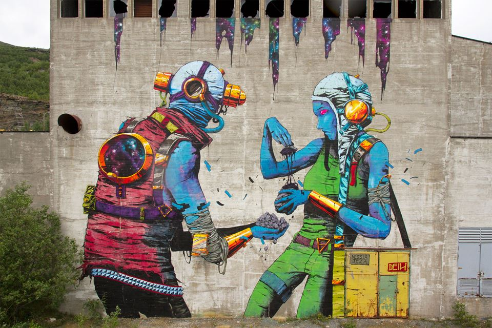 Best of August 2015 (Street art collection)