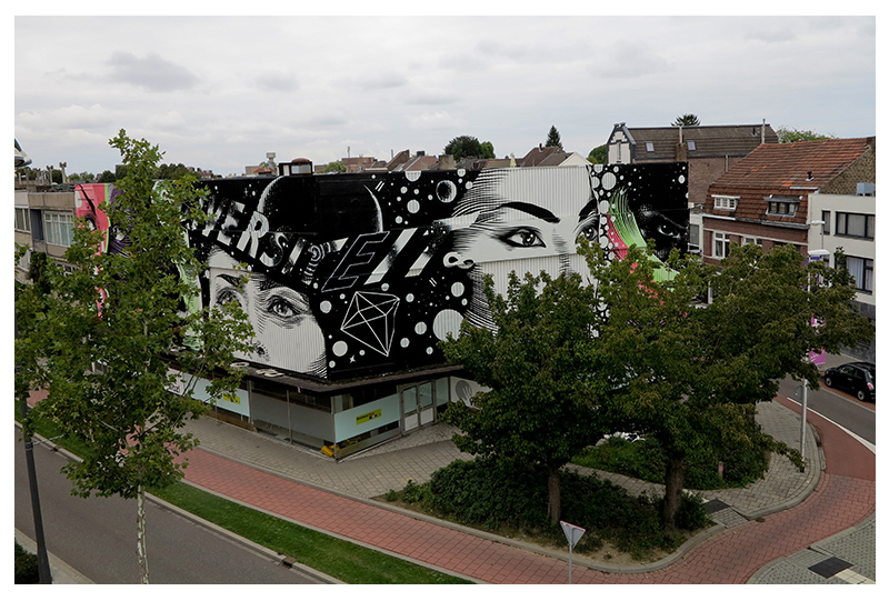 DOURONE AT HEERLEN MURALS (NETHERLANDS)