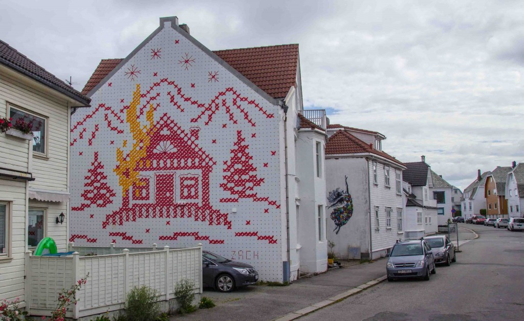 Ernest Zacharevic Murals in Norway