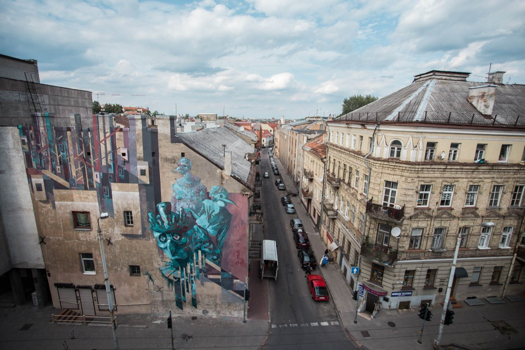 New murals by SEPE&CHAZME and Mobstr