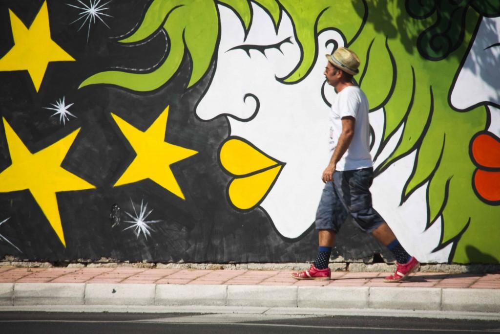 Yapwilli new mural in Galatina (LE) Italy