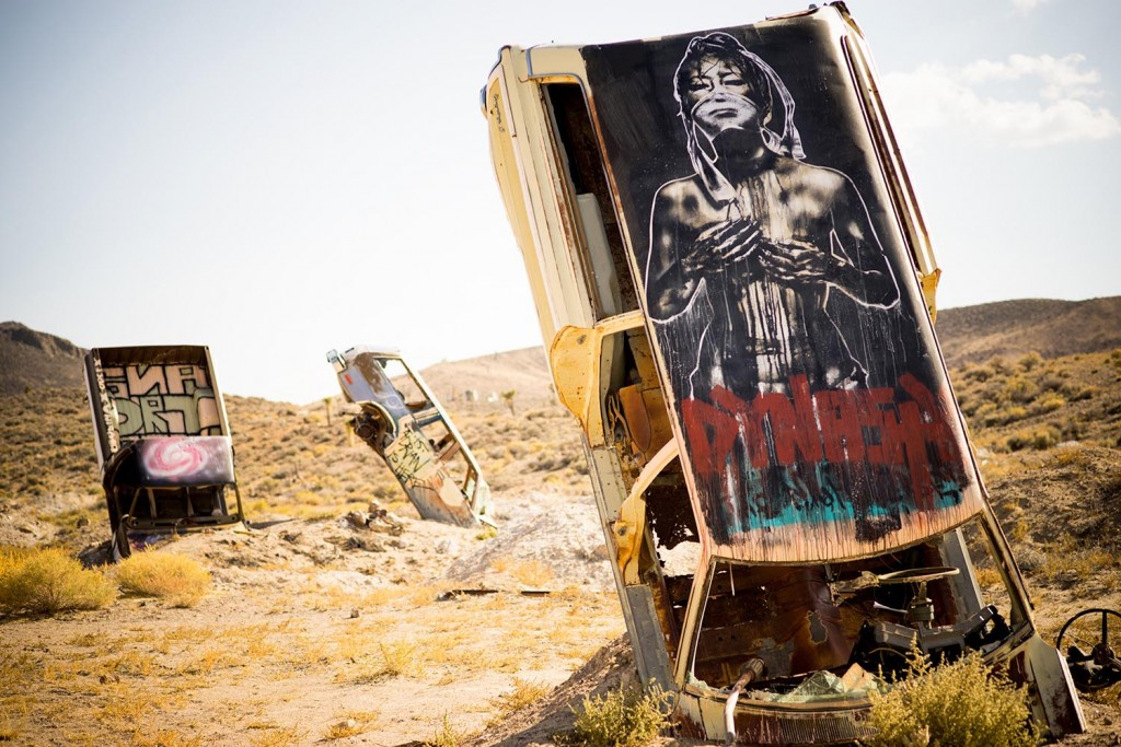 Nite Owl And Eddie Colla in Goldfield Nevada