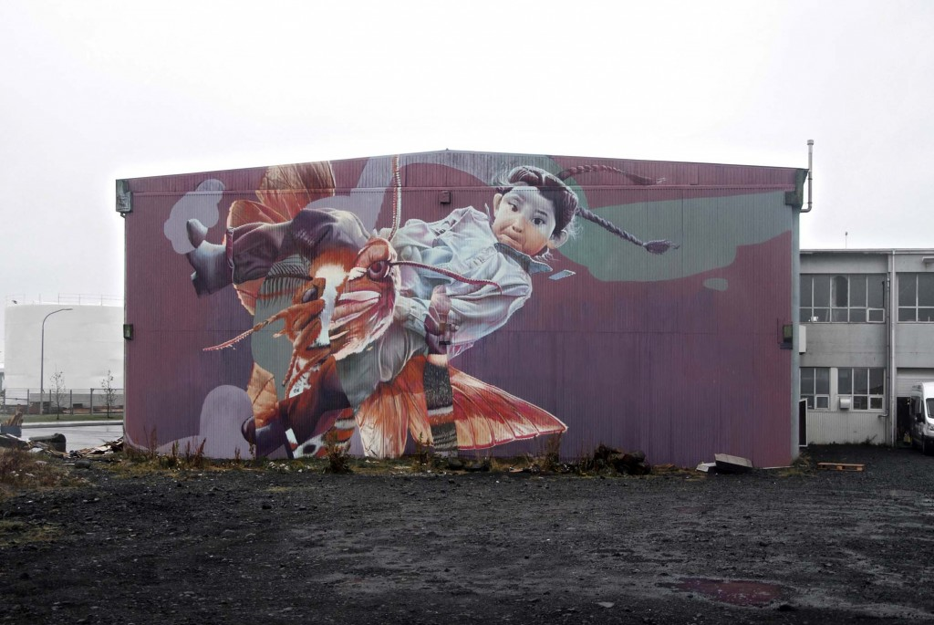 New TelmoMiel Murals in Iceland, Austria and Germany