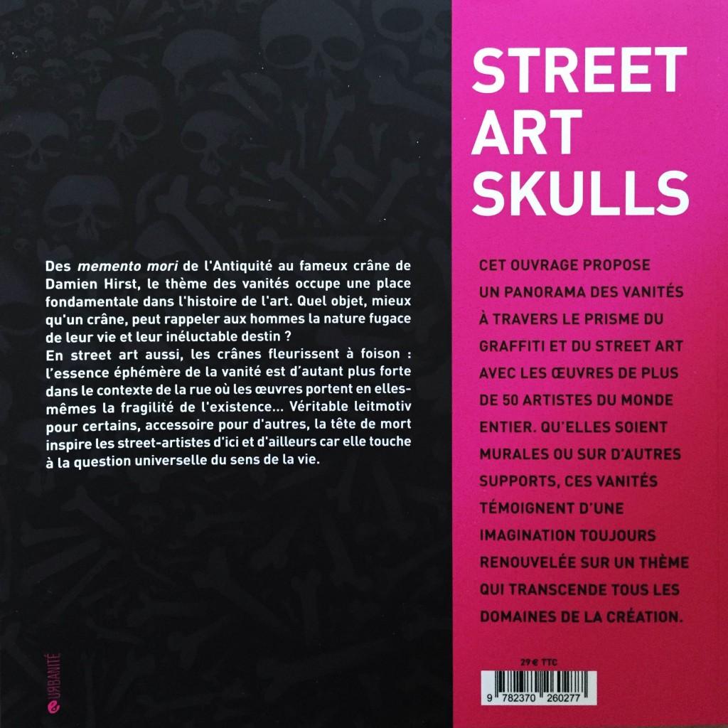 Vanités urbaines - street art skulls (book)