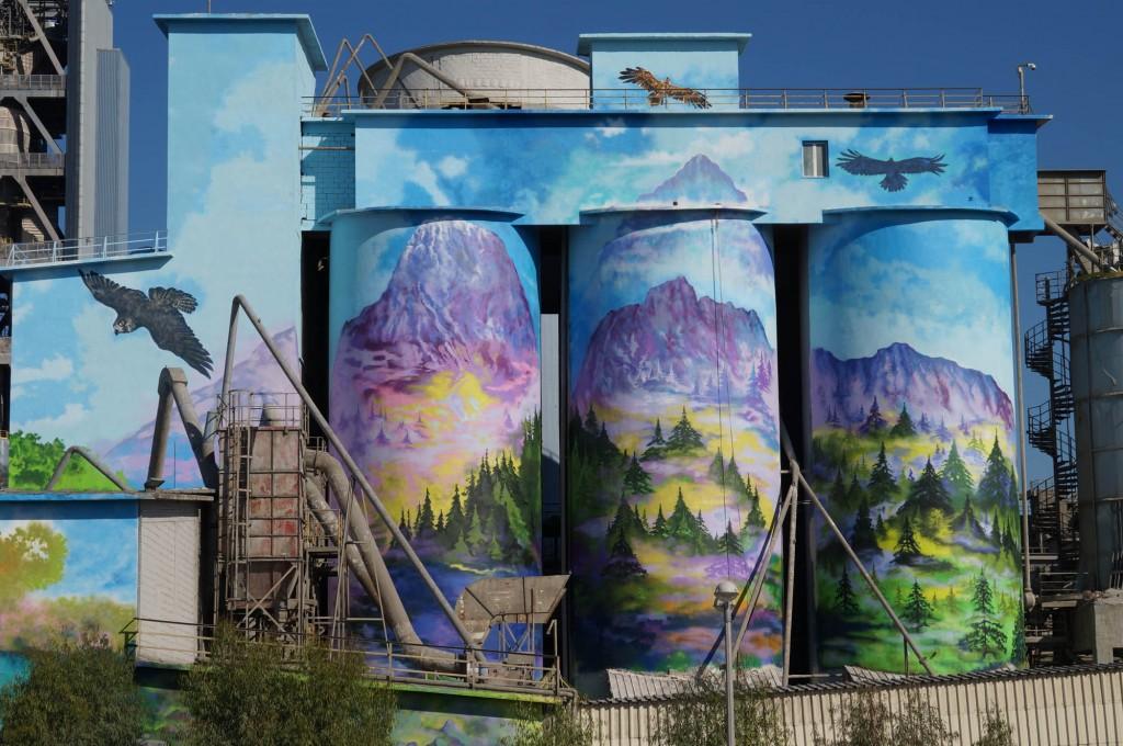 TITANic graffiti project by MWC crew