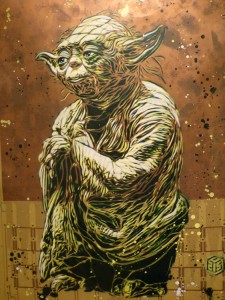 Yoda By C215