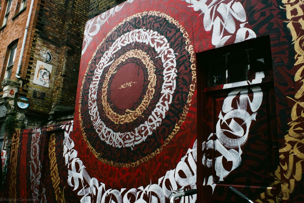 Said Dokins New walls in London MXUK2015