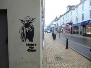 Yoda Street Art